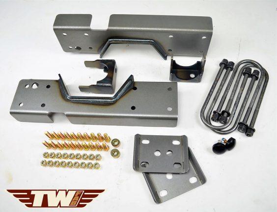 "1988 - 1998 C3500 Rear Lower Kit 8"" Drop OBS Chevy Silverado Flip Notch Kit"