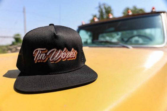 Tinworks Hat - Black/Maroon