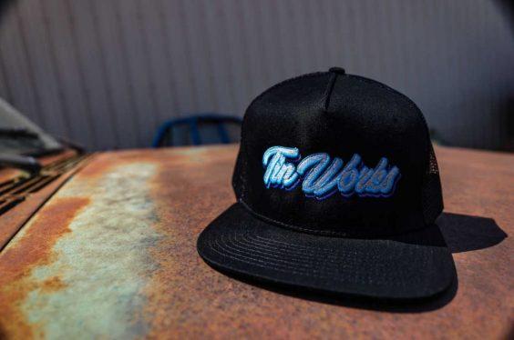 Tinworks Hat - Black/Blue