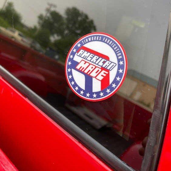 Tinworks Sticker - USA